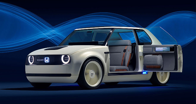 Honda Urban EV Concept with open door
