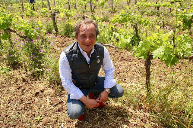 Gianfranco Sabbatini, owner of Le casematte winery, sicily