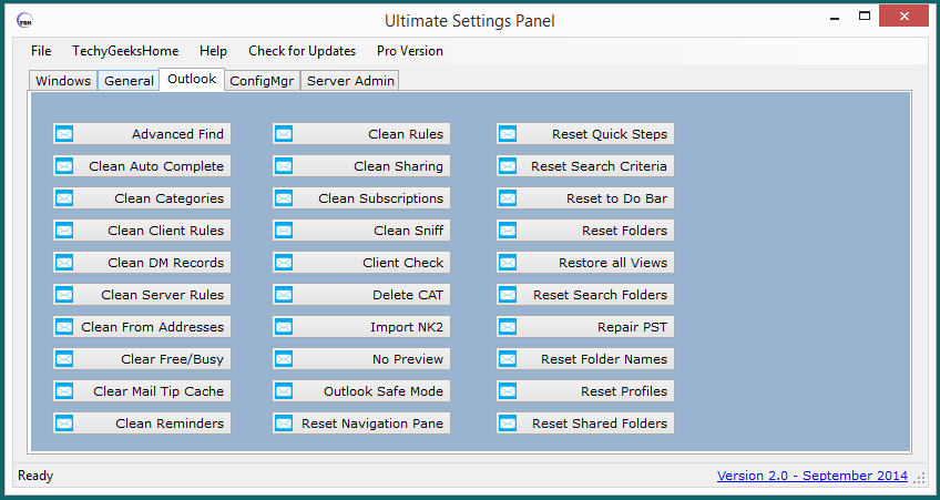 Ultimate Settings Panel version 2.0 Released 3