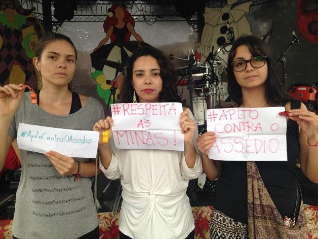 Minas criam campanha contra assédio para o carnaval #apitocontraassedio