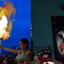 Ethel Booba Avenges, Burns Colombian Effigy