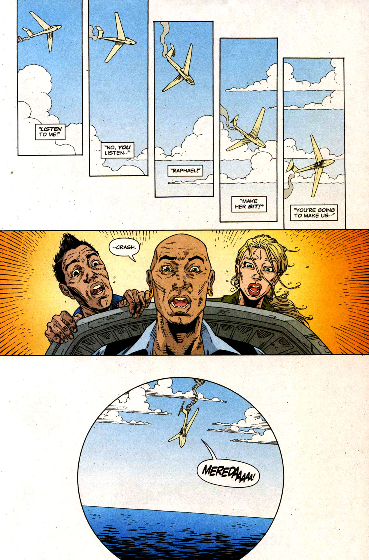 Read online Air comic -  Issue #5 - 19