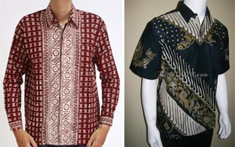 contoh baju kemeja batik orang gemuk