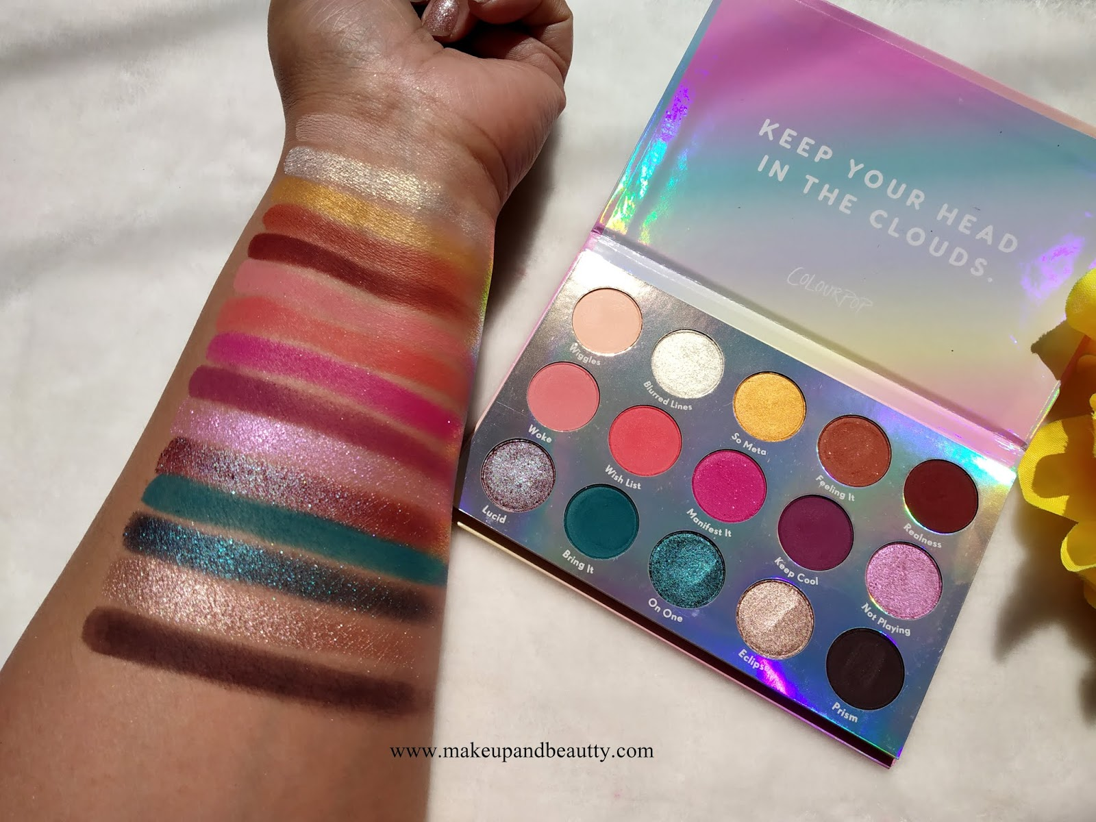 Chasing Rainbows Eyeshadow Palette by Colourpop #5