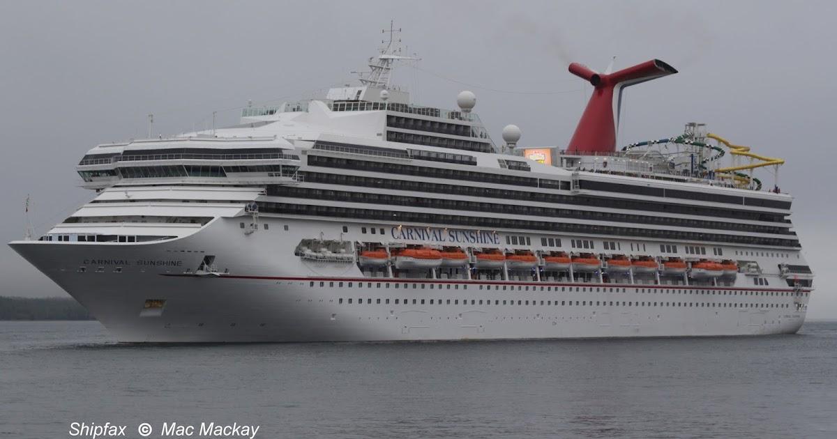Shipfax Carnival Sunshine