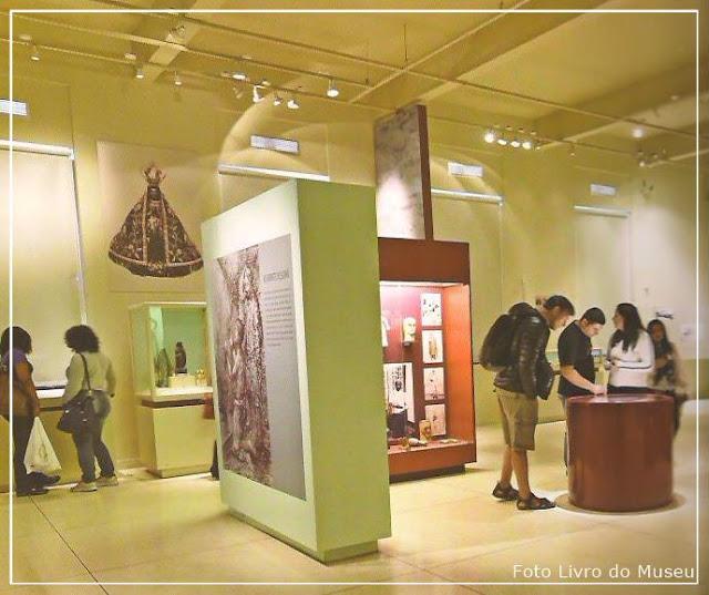 Museu de Aparecida, Exposições localizadas no primeiro andar