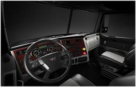 Western Star 4700 interior