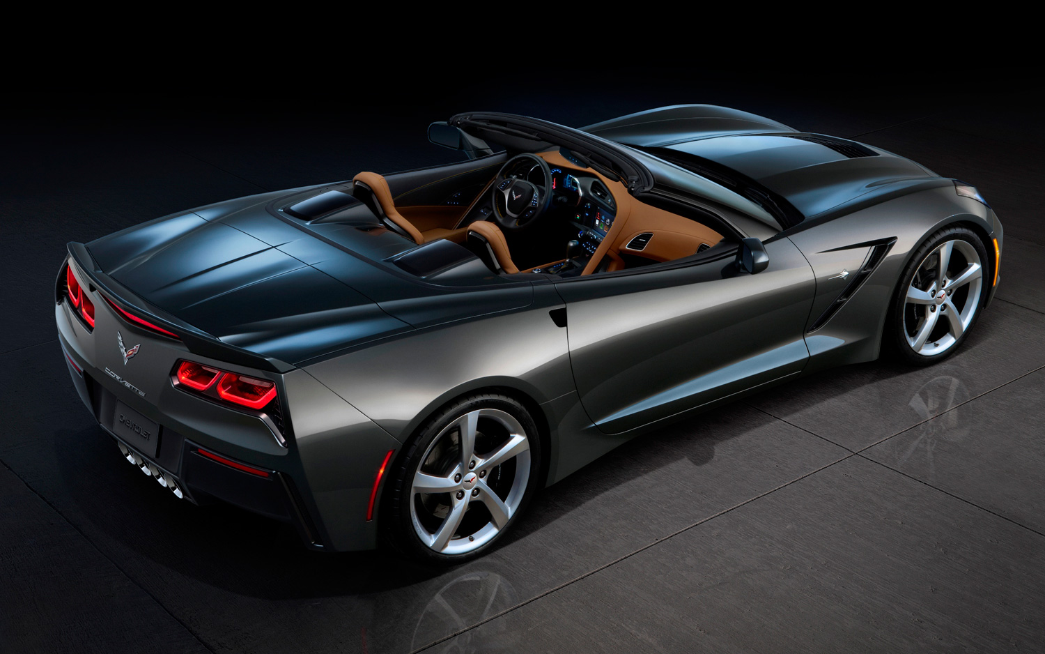 first look2014 chevrolet corvette convertible new cars reviews. Black Bedroom Furniture Sets. Home Design Ideas