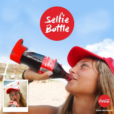 Coca-Cola Invents A Selfie Bottle