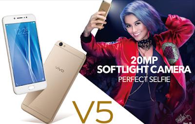 Vivo V5 smartphone perfect selfie