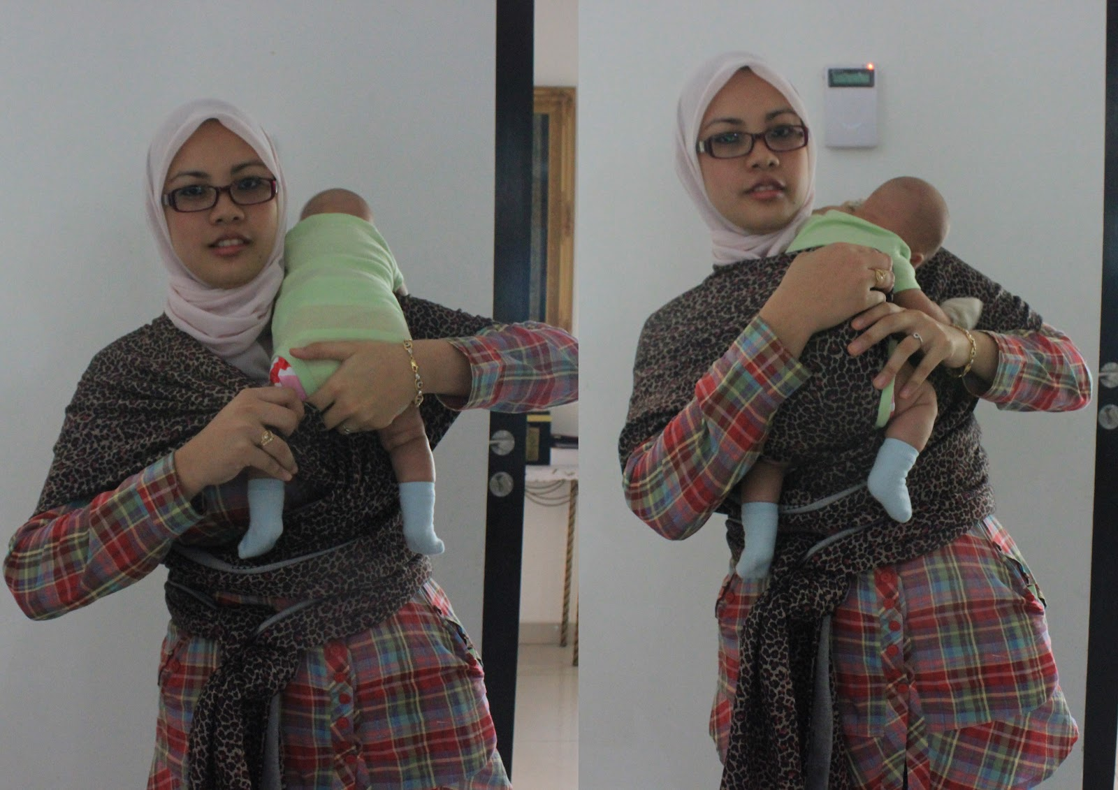 Khy Wrap Khy Wrap Tutorial Putting Your Baby In Hug Hold