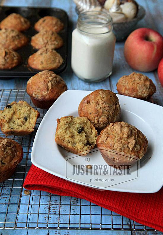 Resep Muffin Apel, Kismis dengan Topping Streusel dan FAQ Seputar Muffin