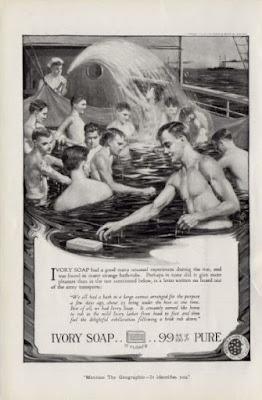Ivory Soap - Navy