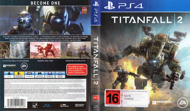Capa Titanfall 2 PS4