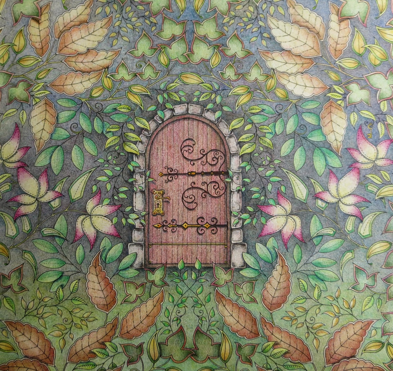 Passion For Pencils My Secret Garden Colouring Book Part 5