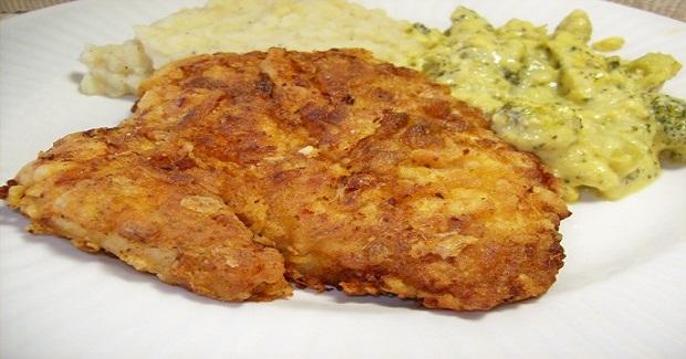 Buttermilk Fried Chicken Breast Filets Recipe