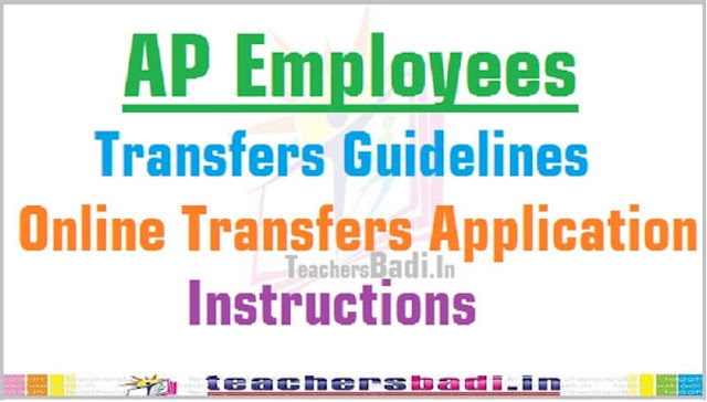 AP Employees,Online Transfers Application,Guidelines-Instructions