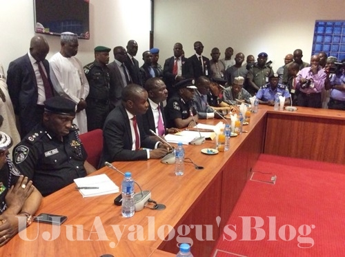 I'm Not Here to Answer Your Questions - IG of Police Tells Senators as He Appears for Probe (Photos)