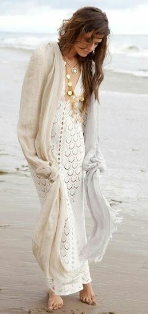 Boho chiffon Dress