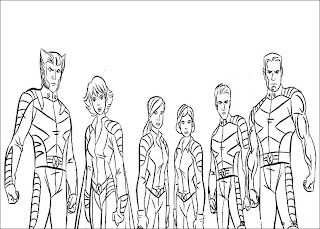 Fun Coloring Pages: X-Men Coloring Pages