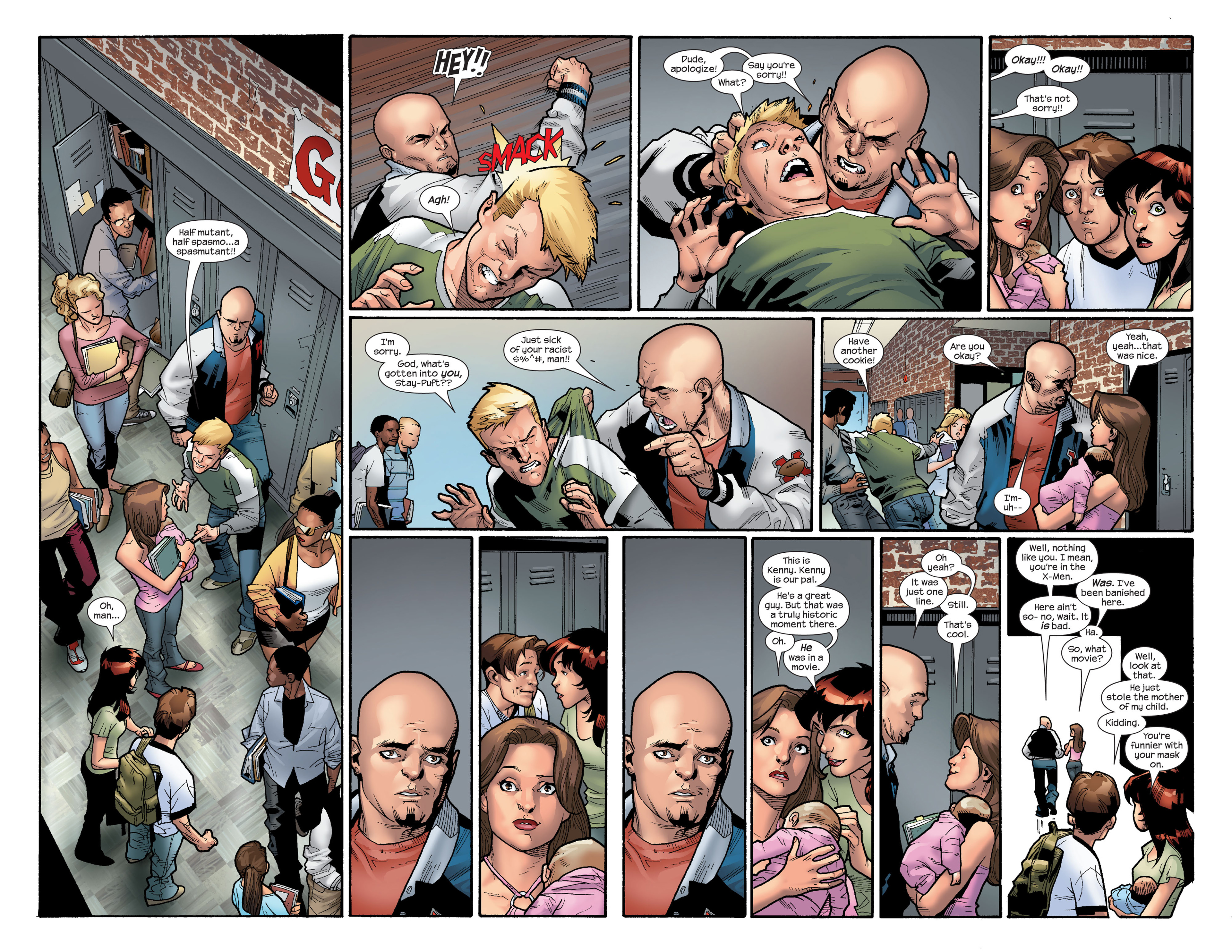 Read online Ultimate Spider-Man (2000) comic -  Issue #112 - 18