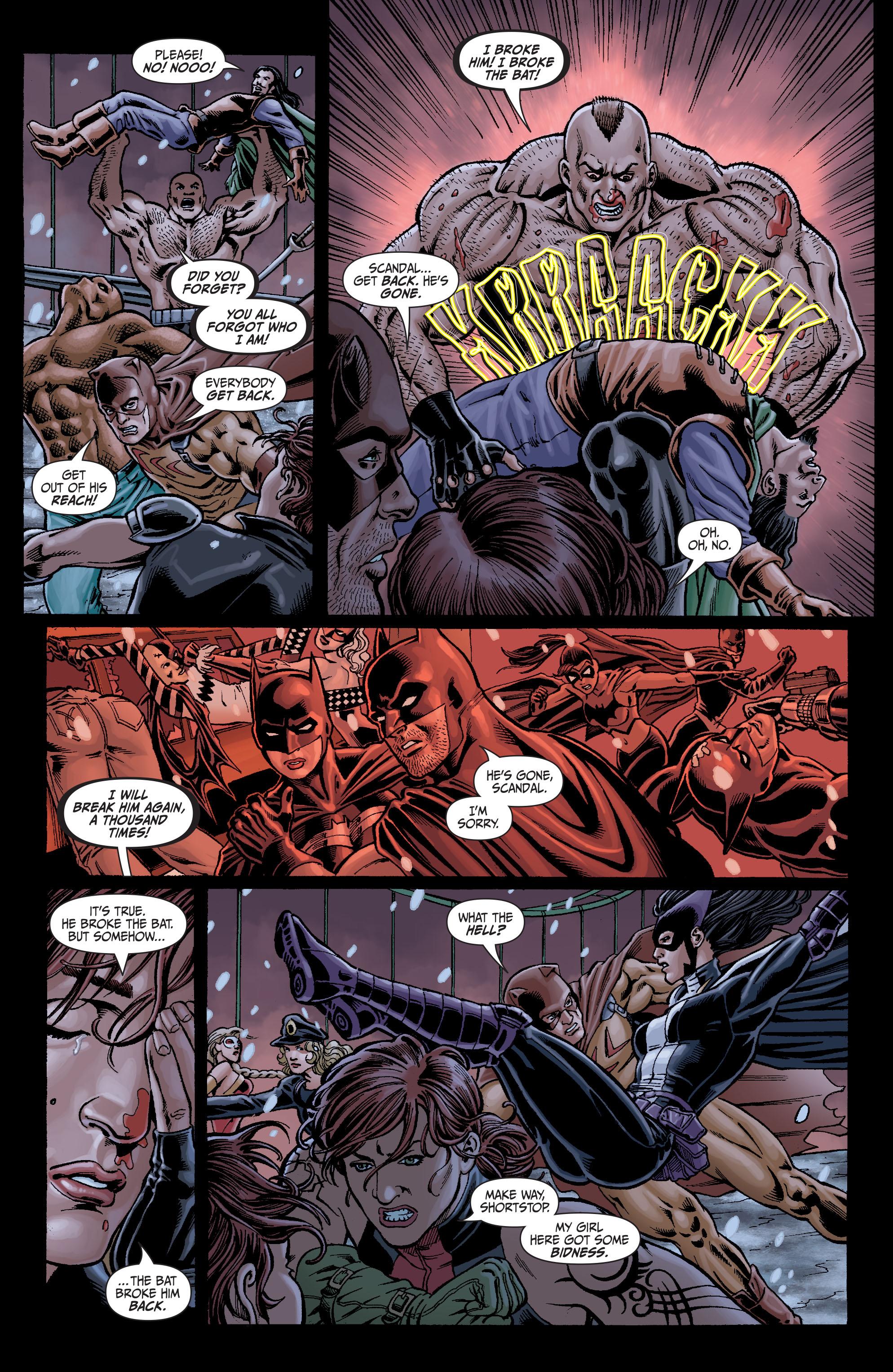 Read online Secret Six (2008) comic -  Issue #7 - 16