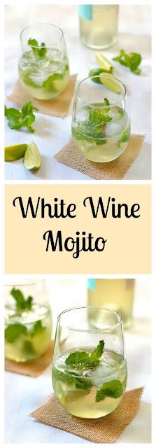 White Wine Mojito - Drink Recipes