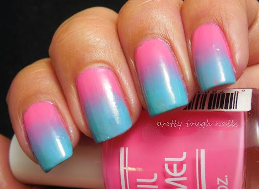 Bettina Tulipani And WnW I Need A Refresh Mint Gradient with Hit Polish Punked Up Kicks