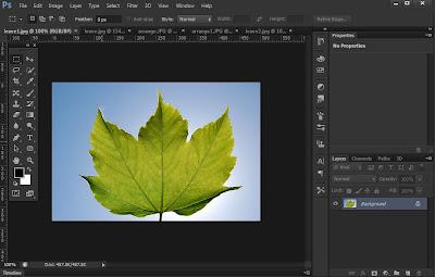 photoshop cs6 : tab screen