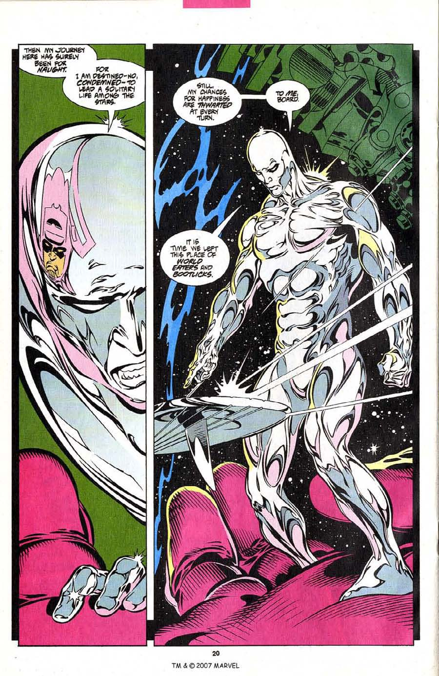 Read online Silver Surfer (1987) comic -  Issue #102 - 22