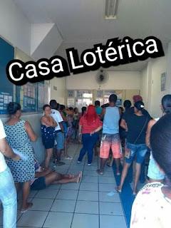 Belmonte: População sofre com longas filas e demora no atendimento em casa lotérica da cidade