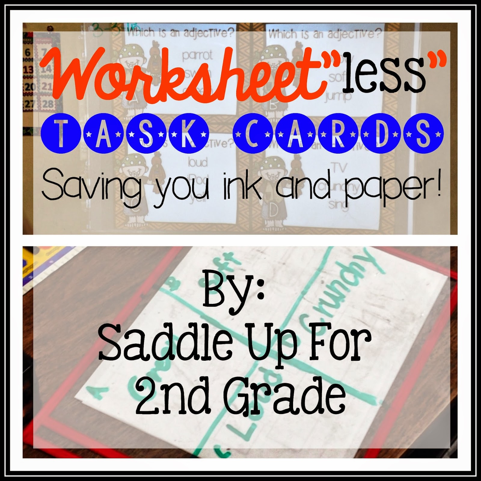 Bright Ideas Worksheet Less Task Cards Saving You Time Ink And Paper
