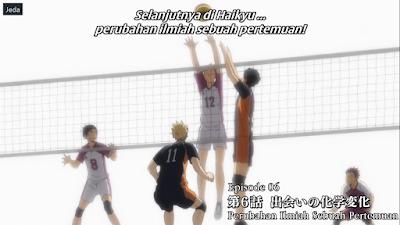 Haikyuu!! S3 Episode 06 Subtitle Indonesia