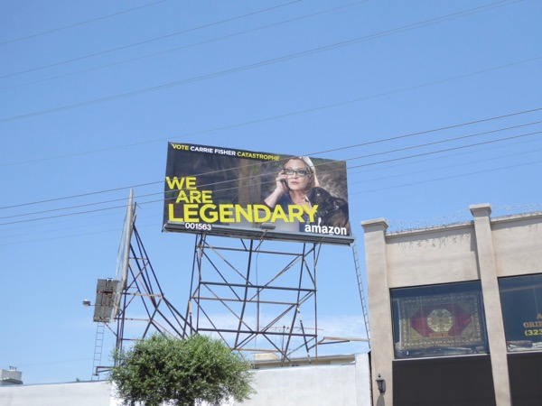 Carrie Fisher Catastrophe Legendary Emmy billboard