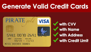 Credit Card Generator with Name and address - Sigoro