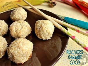 Rochers banane et noix de coco pour le nouvel an chinois