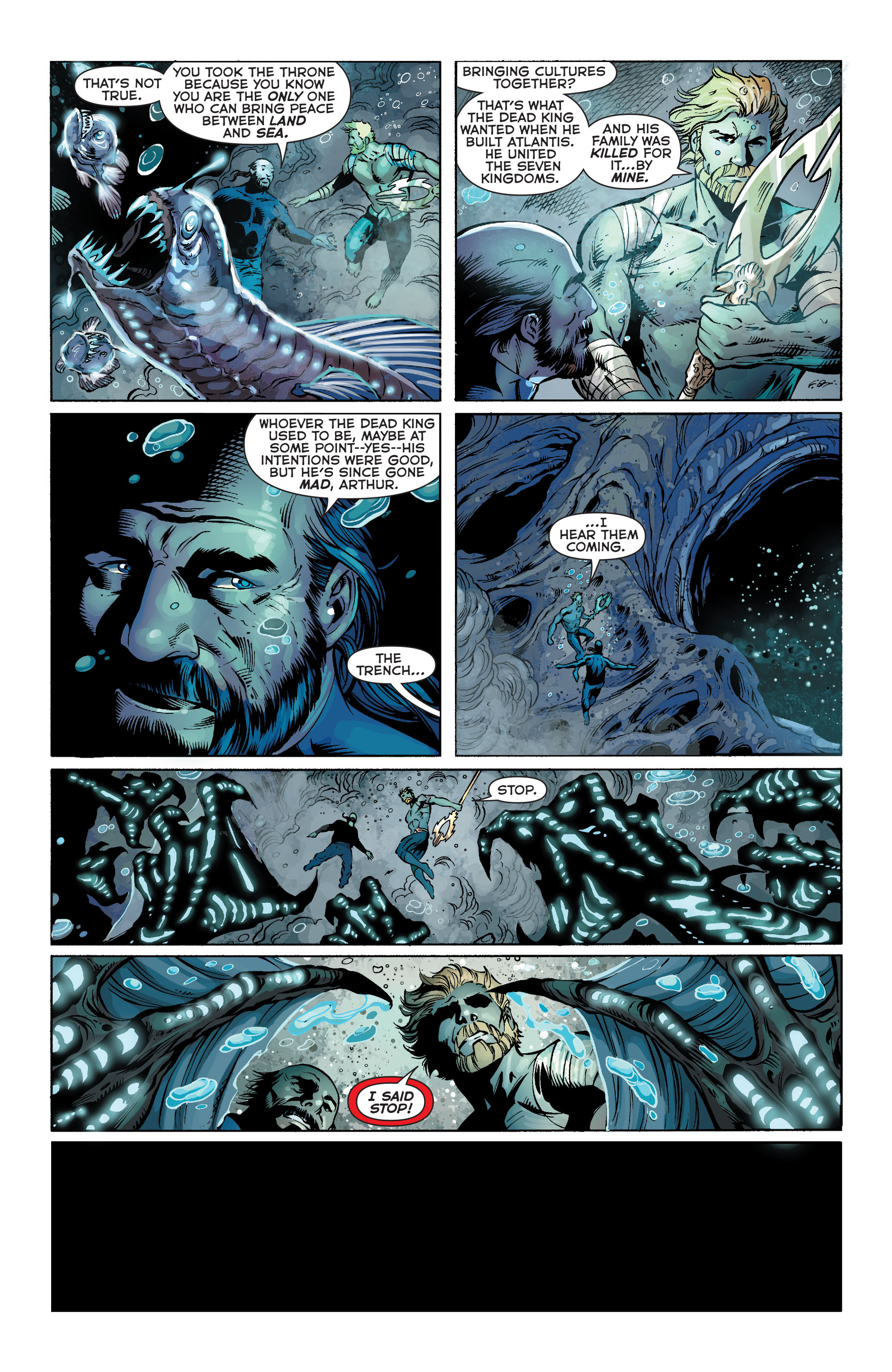 Read online Aquaman (2011) comic -  Issue #25 - 5