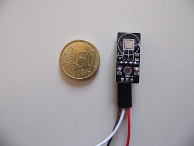 I resistori sono già presenti su questo modulo DHT11 - foto di Paolo Luongo