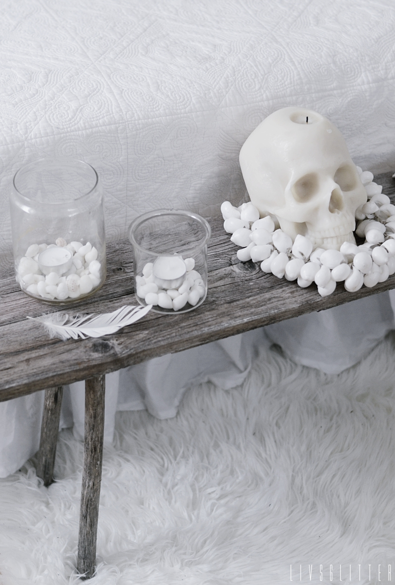 diy, do it yourself, pall, bänk, love warriors, skull candle, sovrum, inredning, inspiration