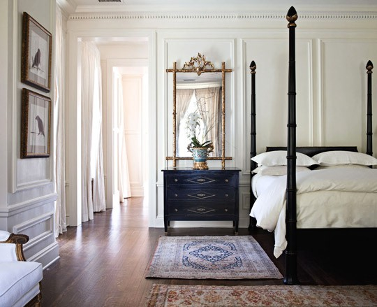 The Peak of Très Chic: Paneled Walls- So 2000 and Late?