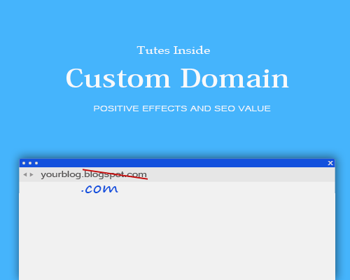 Tutes Inside- Adding Custom Domain In Blogger