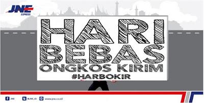 Promo JNE HARBOKIR HARI BEBAS ONGKOS KIRIM