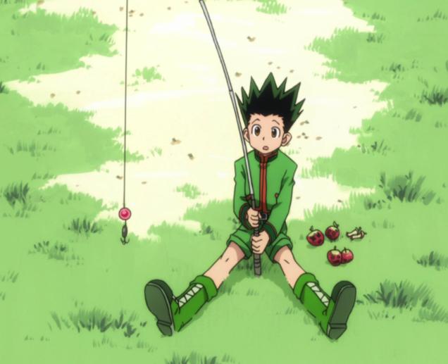 Karakter Anime Yang Bersenjatakan Senjata Anti Mainstream Gon