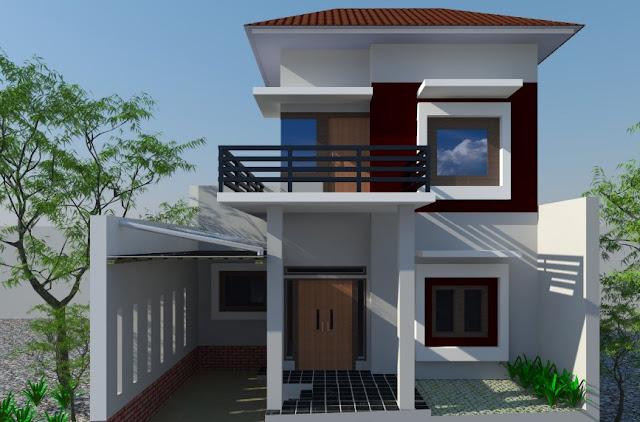 rumah minimalis 2 lantai type 21 tahun 2013