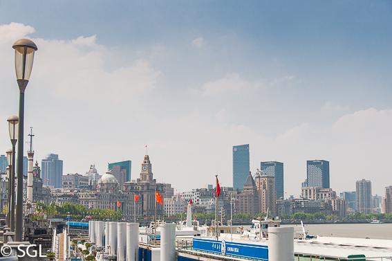 El Bund de Shanghai