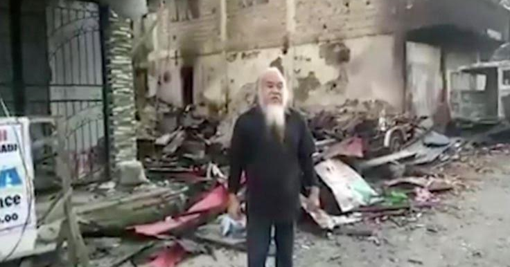 Image result for Catholic priest & 200 others held hostage by ISIS in Philippines