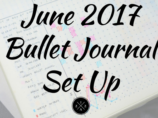 June 2017 Bullet Journal Set Up