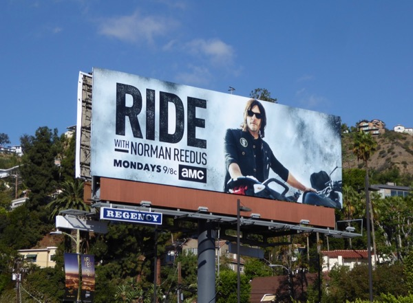 Ride with Norman Reedus season 2 billboard
