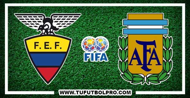 Ver Ecuador vs Argentina EN VIVO Por Internet Hoy 10 de Octubre 2017