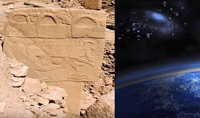 Ancient Stone Pillars : Ancient stone pillars confirm date of comet strike that